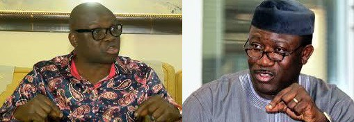 Governor Fayose and the Ex-Governor Fayemi