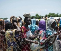 Internally Displaced Persons (IDPs) camp