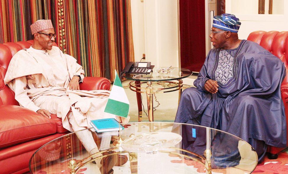 Presidency replied ex-President Obasanjo's criticism of Buhari's admin