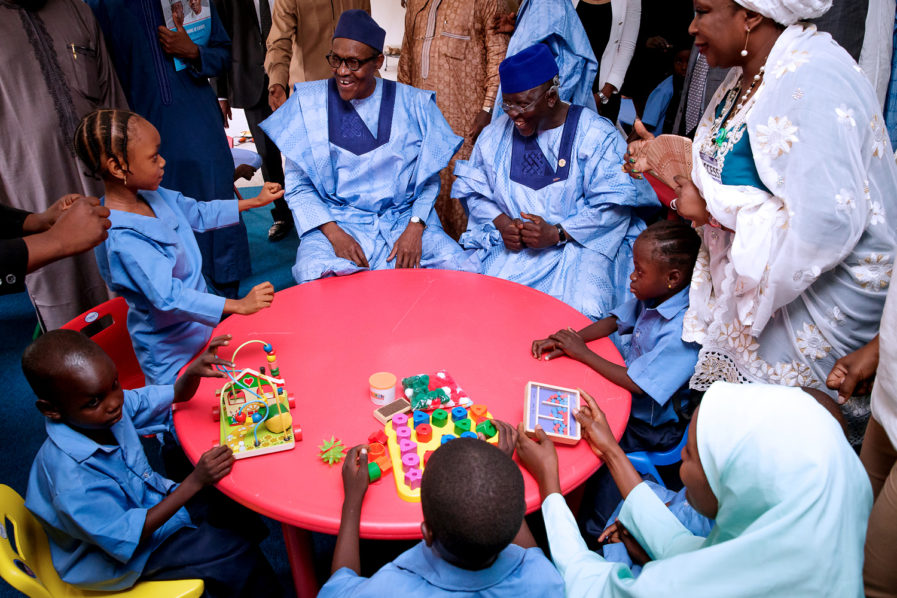 Nigeria president flag off special school for disability persons