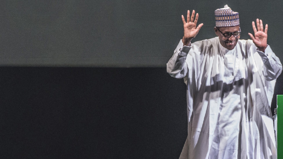 Buhari gives reasons why he declared for reelection before travelling